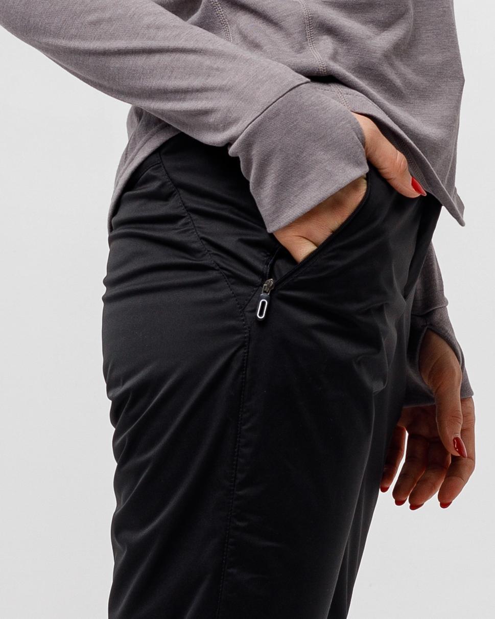 Флисовые брюки черный HEIDEN вид5