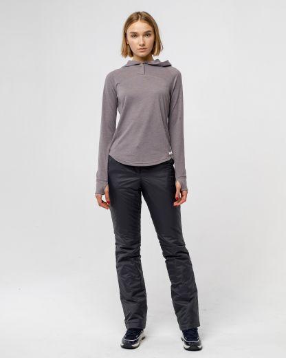 Женские брюки плащевые