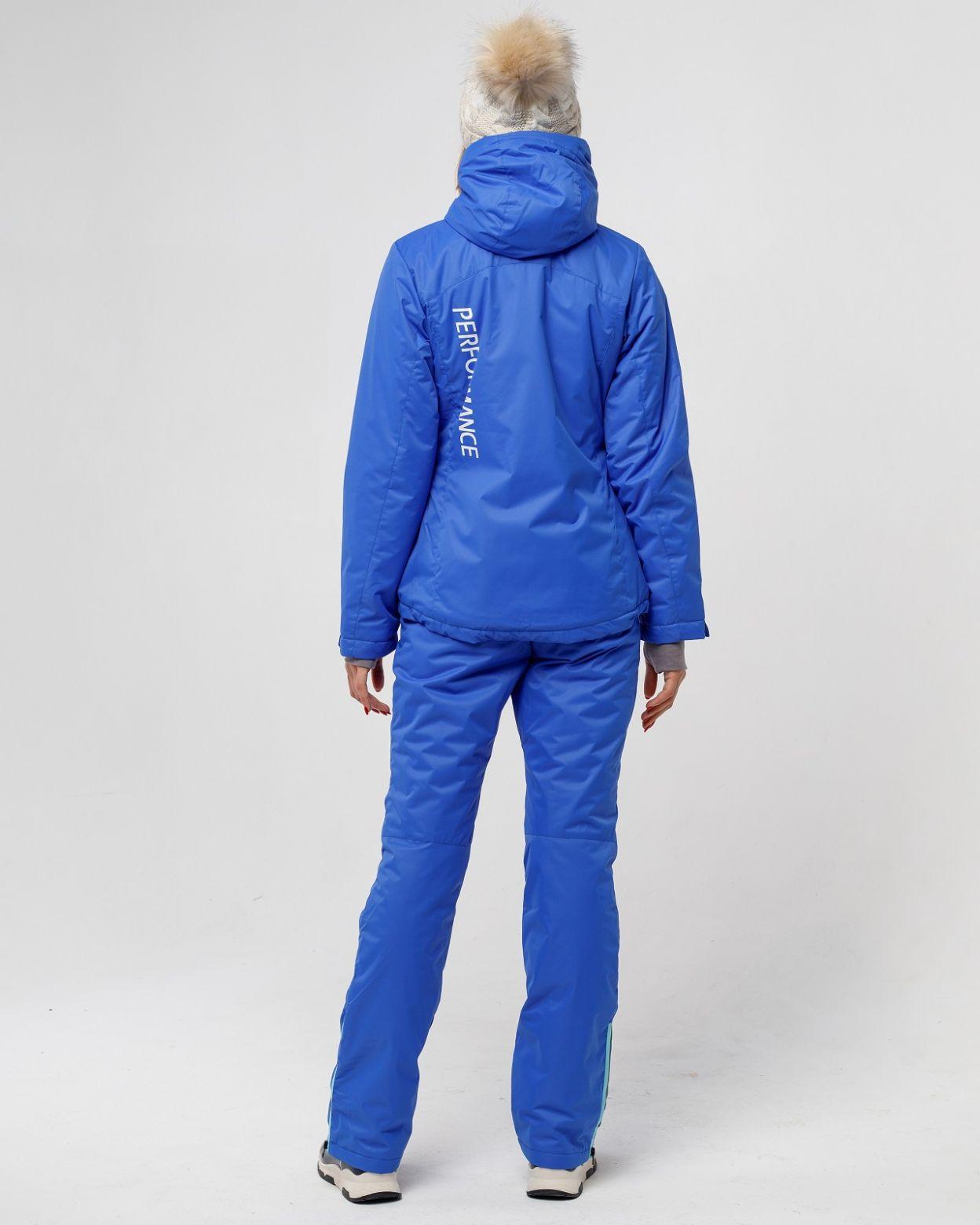 Зимний женский костюм ультрамарин HEIDEN вид5