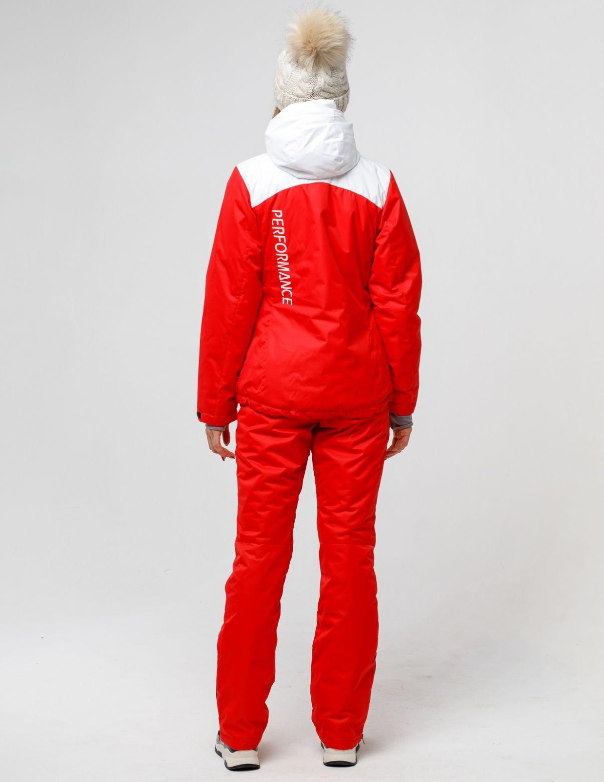 Зимний красный костюм HEIDEN вид5