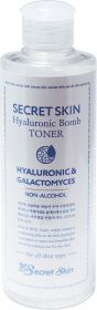 Secret Skin Hyaluronic&Galactomyces Bomb Toner 250ml - Тонер для лица гиалуроновый с галактомисом