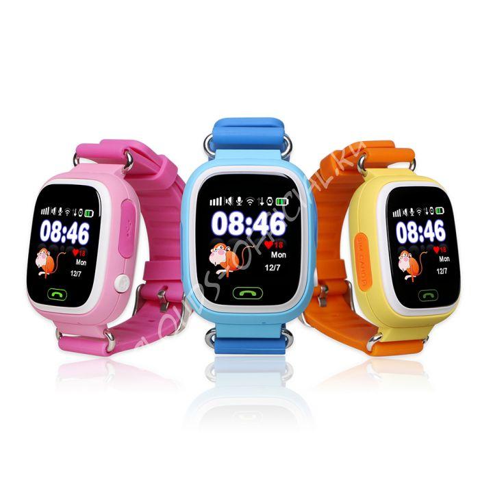 Детские часы с GPS Bravika Fly Band