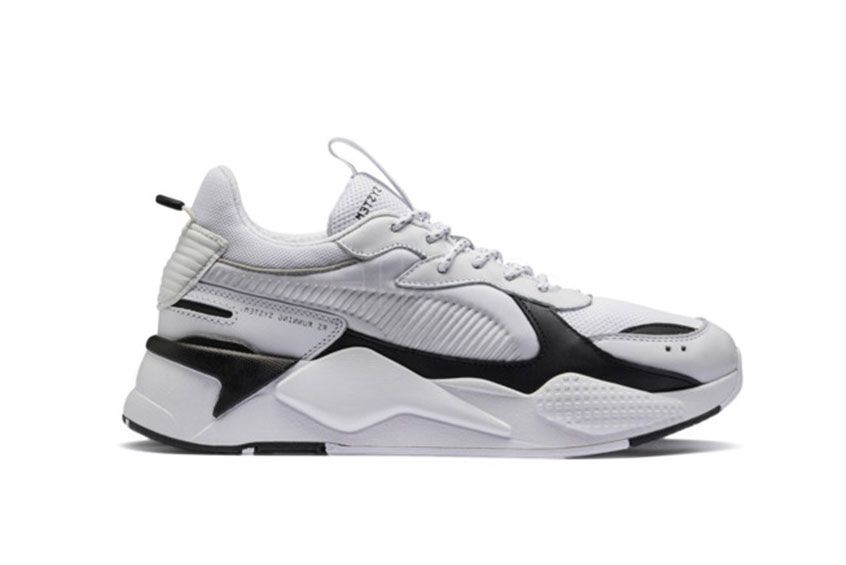 PUMA RS-X REINVENTION WHITE BLACK