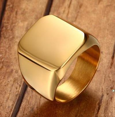 Печатка под золото