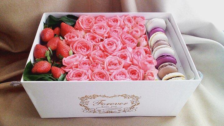 Подарочная коробка Ягодка