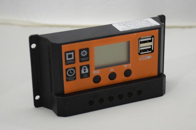 Контроллер PWM2410L 10A, PWM2420L 20A, PWM2430L 30A, 12V/24V