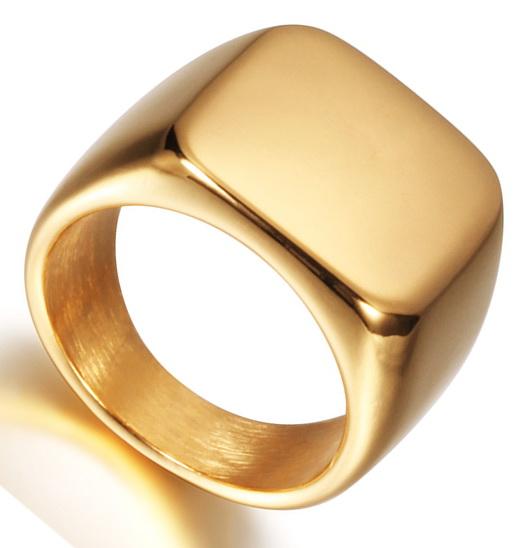 Перстень из хирургической стали