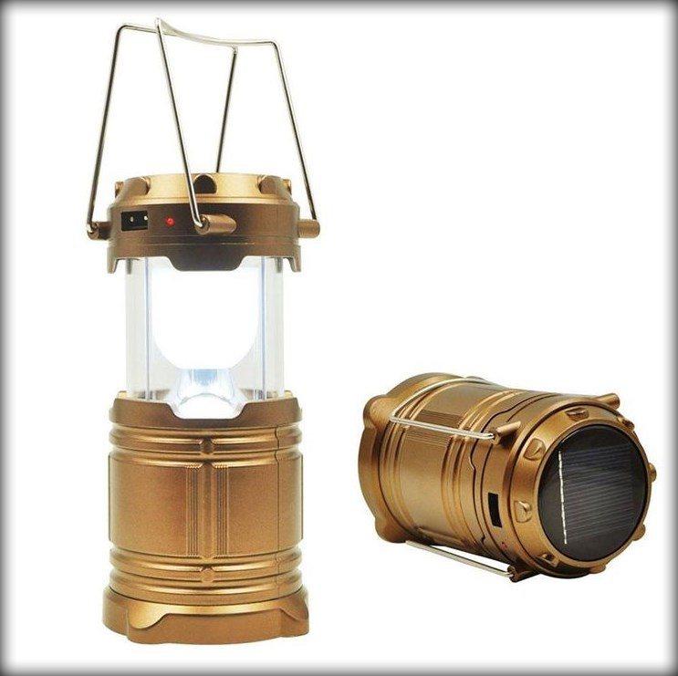 Фонарь лампа для кемпинга солнечная панель повербанк