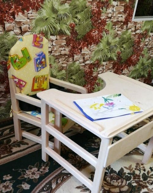 Стул + стол(под заказ по индивидуальным меркам) (В наличии нет.)