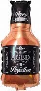 Шар (32''/81 см) Фигура, Бутылка Виски, 1 шт.