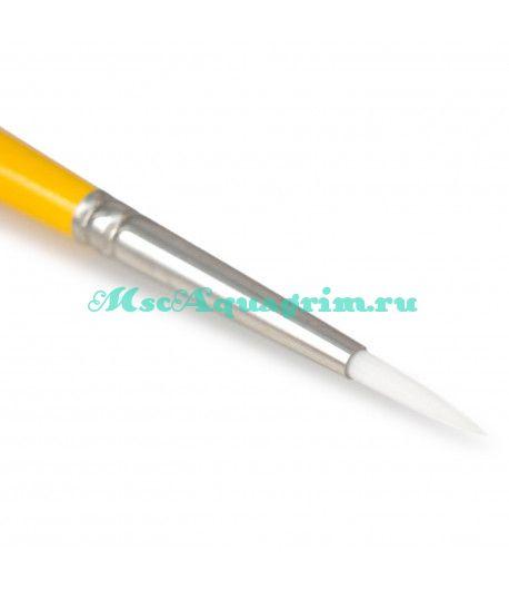 Профессиональная кисть для аквагрим Loew-Cornell Gold Grip круглая №4