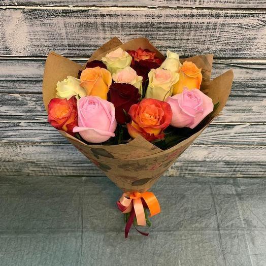 Микс из 15 роз