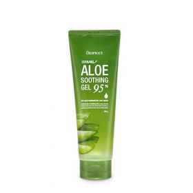 DEOPROCE Cooling Aloe Soothing Gel 95% 250g - Охлаждающий успокаивающий гель с 95% алоэ вера