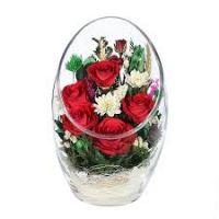 Розы в стекле