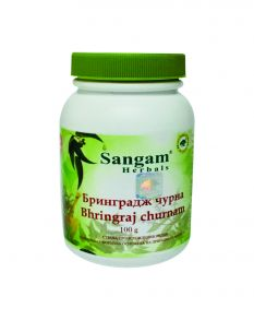 Брингарадж (бринградж) порошок | Bringraj Powder | 100 г | Sangam Herbals