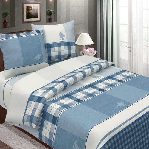 Поло (синий) постельное белье бязь