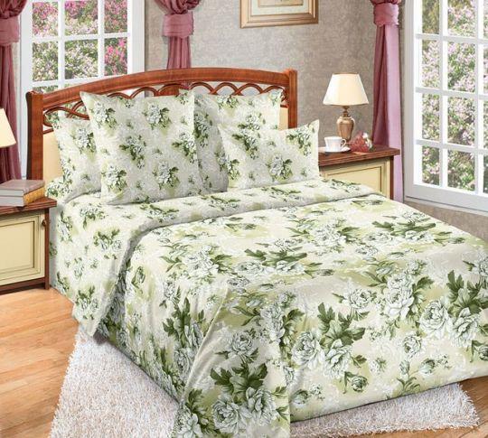 Белый сад постельное белье Сатин