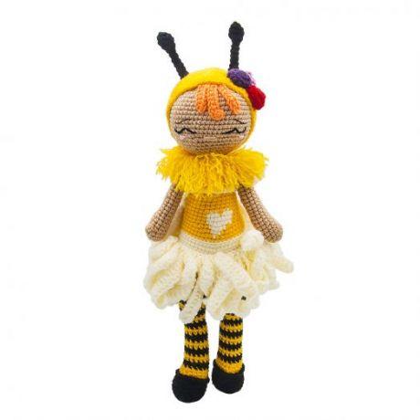 Игрушка вязанная  Кукла Ханна Пчелка