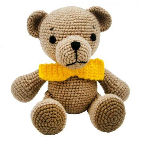 Игрушка вязанная  Медведь Тим