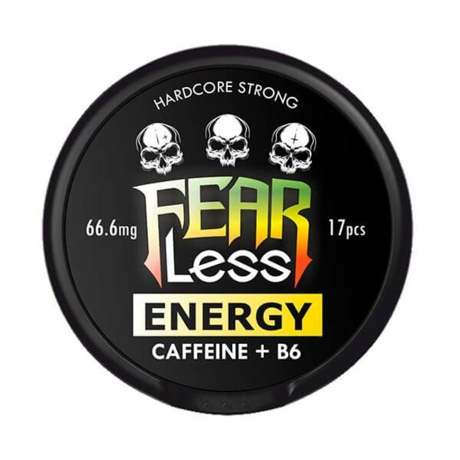 Снюс Fearless Energy + Caffeine + B6