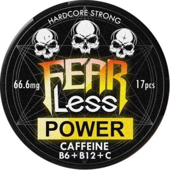 Снюс Fearless Power + Caffeine + C + B6 + B12