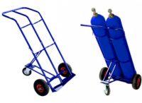 ГБ-2 – тележка улучшенной конструкции, позволяющая перевозить сразу два кислородных баллона