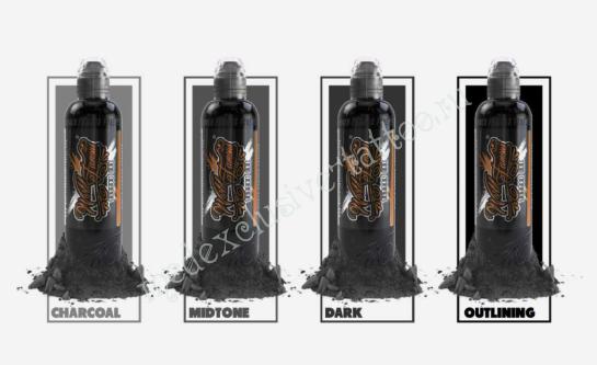 Lining and Shading Set ( 4 бутылки ) 30мл