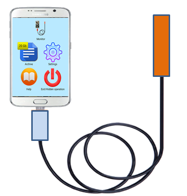 Android USB Endoscope Professional
