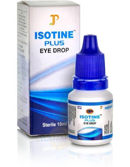 """Аюрведические глазные капли"""" Айсотин Плюс"""", 10 мл, Производитель Джагат Фарма; Isotine Plus eye drop, 10 ml, Jagat Pharma"""