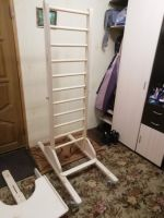 Шведская стенка (лестница)  на колесиках. На заказ.(В наличии нет.)