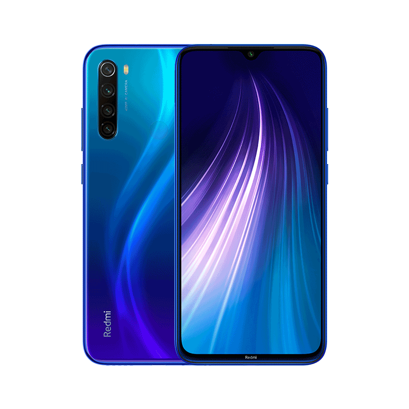 Смартфон Xiaomi Redmi Note 8 4/64GB Blue