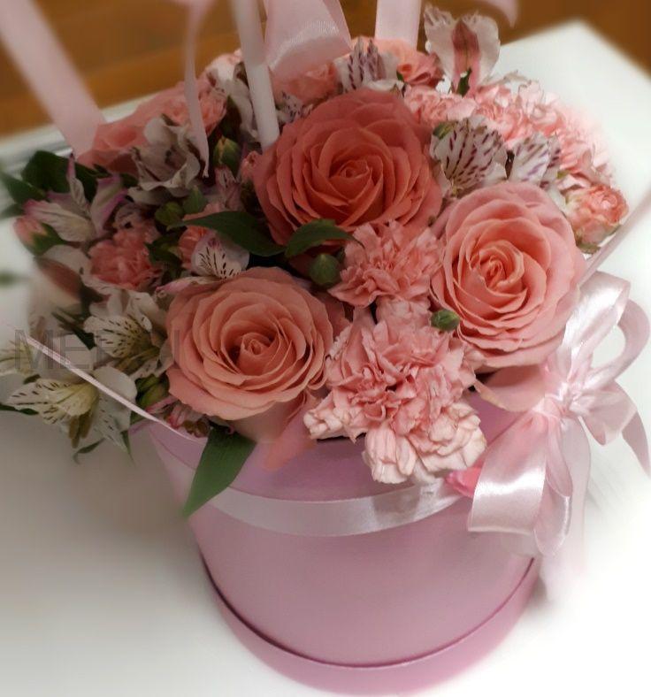 Коробка с цветами №11