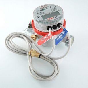 Теплосчетчик квартирный с тахометрическим расходомером (для установки на обратный трубопровод)