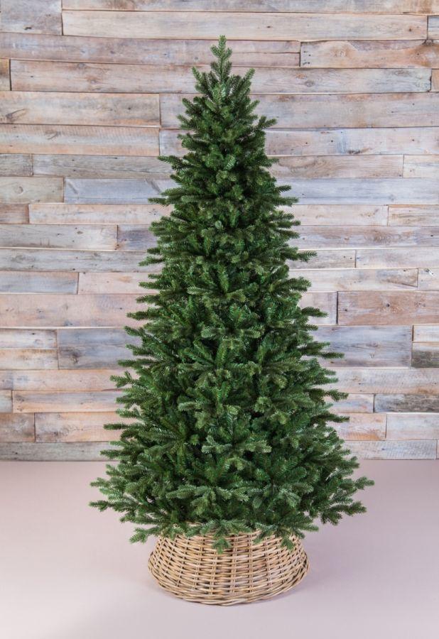 Искусственная елка Шервуд премиум стройная 185 см зеленая