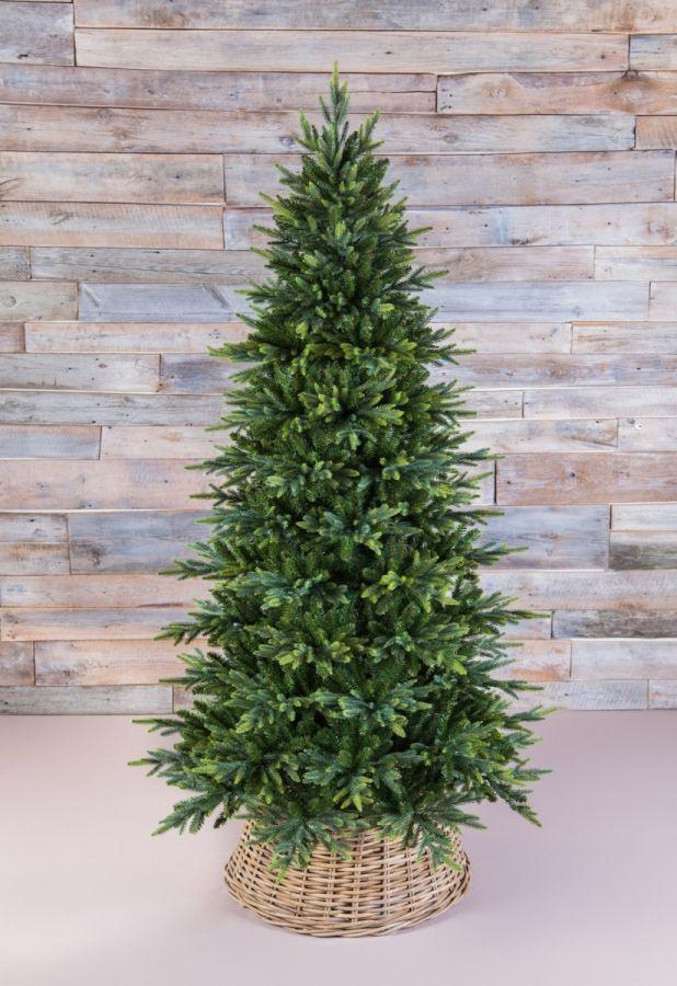 Искусственная елка Королевская стройная 215 см зеленая