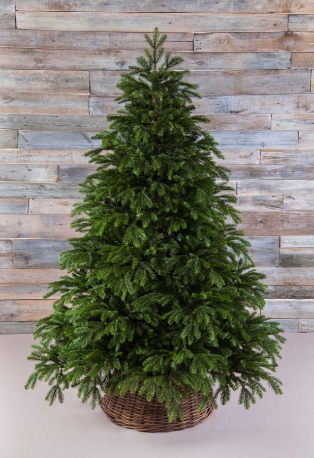 Искусственная елка Коттеджная full РЕ 215 см зеленая