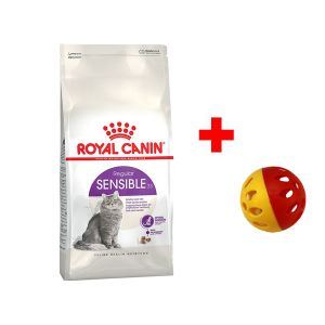 Корм сухой Royal Canin Sensible для кошек с птицей 2кг