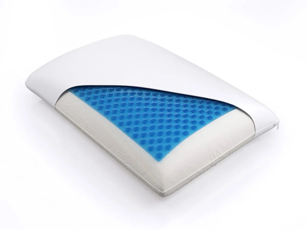 Подушка Классика с гель накладкой