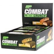 MusclePharm Combat Crunch АРАХИС 63гр протеиновый батончик