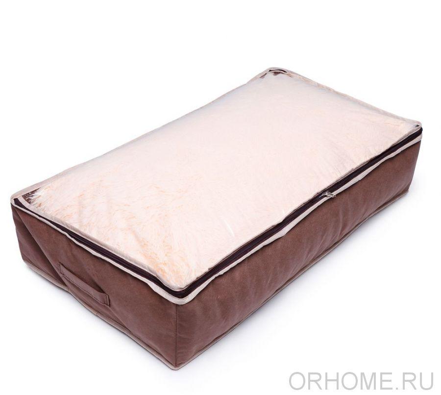 Чехол для хранения одеял с прозрачной крышкой