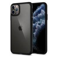 Купить чехол Spigen Ultra Hybrid для iPhone 11 Pro черный прозрачный чехол для Айфон 11 Про в Москве в интернет магазине аксессуаров для смартфонов elite-case.ru