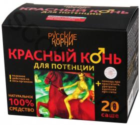 Красный конь (для потенции) коробка №20* 5 гр