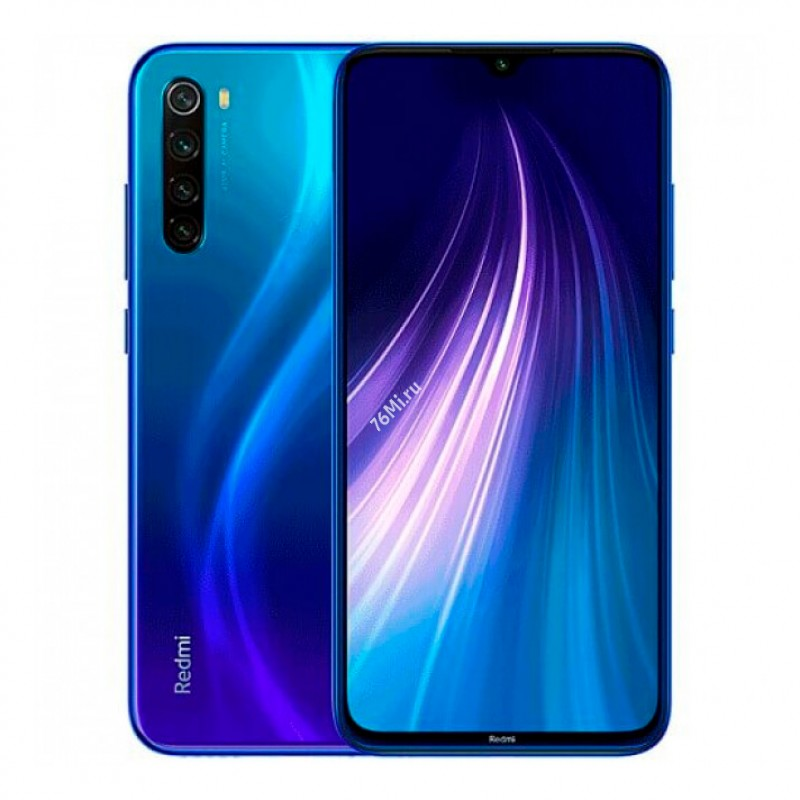 Смартфон Xiaomi Redmi Note 8 4/128GB Blue