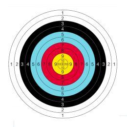 Мишень для стрельбы из лука 60х60 см.
