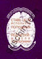 "Декоративная панель ""Guschin"" & ""Саша Крамар"" - ""Ставь цели"""