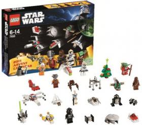 7958 Лего Новогодний календарь 2011