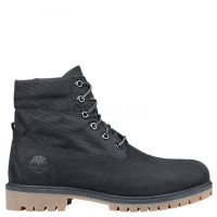 TIMBERLAND  ROLL-TOP BOOTS Black