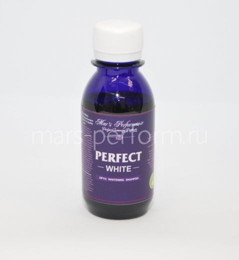 Perfect White Optic Whitening Shampoo for Snow-white & Sparkle coat 125 мл