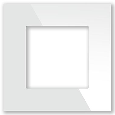 Рамка белая CGSS P101 WC (без механизмов)