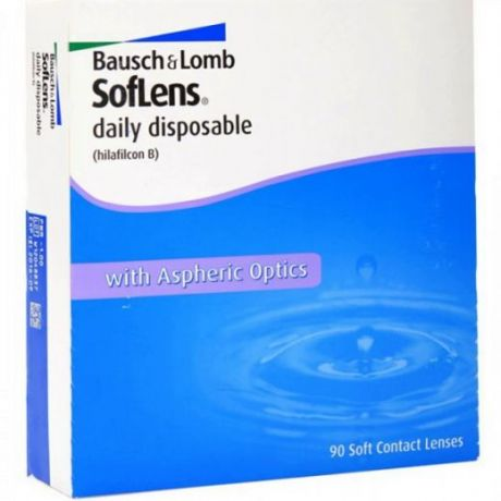 Soflens daily disposable 90 pk